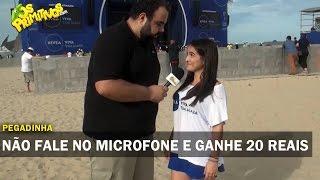 NÃO FALE NO MICROFONE E GANHE 20 REAIS