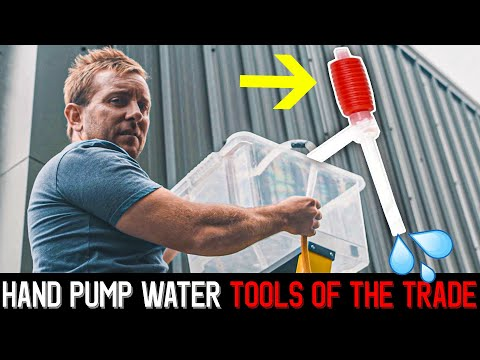 Hand Pump Water - Must have tools of the trade