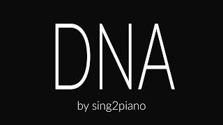 DNA (Piano Karaoke) Lia Marie Johnson