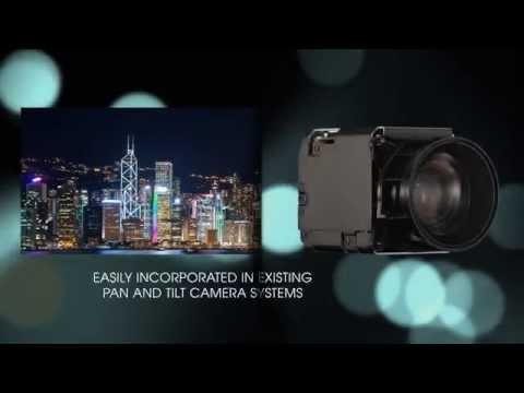 Sony's FCB-ER8300 4K Industrial Camera block