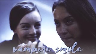 julia & marina | vampire smile