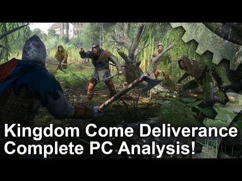 Kingdom Come Deliverance: PC vs PS4 Pro Graphics Comparison + Frame-Rate Test