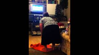 Farting Granny Wipe Out