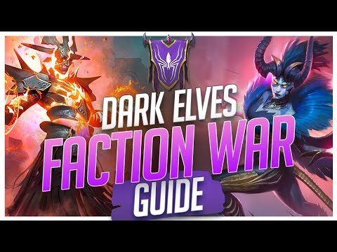 RAID | Dark Elves | Faction Wars Guide | Final Stage Auto