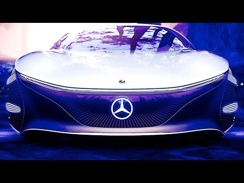 Mercedes-Benz Vision AVTR ? Crazy Concept Car | CES 2020
