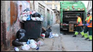 ¿Cómo funcionan los camiones de basura en Valparaíso?