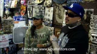 Lil Cuete Behind The Scenes Interview 2013