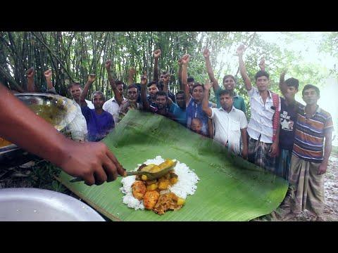 এবারের বনভোজন নির্জন পল্লীতে। Food For All