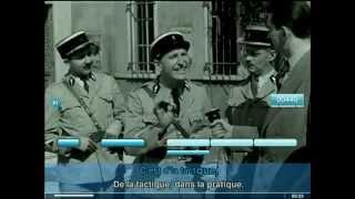 karaoké , Bourvil   La tactique du gendarme