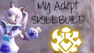 [Dragon Nest Sea] Adept SkillBuild (Level 70)