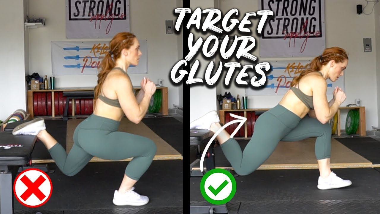 HOW TO TRAIN GLUTES EFFECTIVELY | Adjust to TARGET YOUR BOOTY