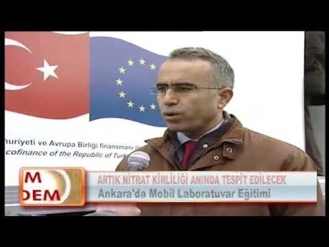 ARTIK NİTRAT KİRLİLİĞİ ANINDA TESPİT EDİLECEK 20.02.2012