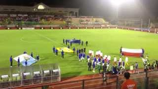 San Marino vs Polond - FIFA anthem entrance song - September 10th, 2013
