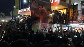 Thalapathi Fans sarkar Teaser Celebrations | Vijay | Sarkar Official Teaser