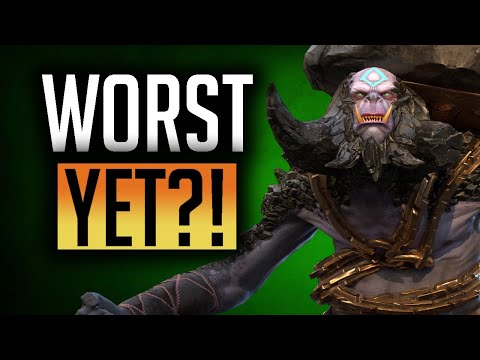 RAID   Fragment champion Drokgul the Gaunt Full playtest! Clanboss, Arena and Dungeons!