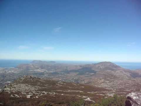 View west from Mclear's Beacon, Table Mountain