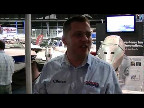 National Boat Show Interview – Honda Marine SA