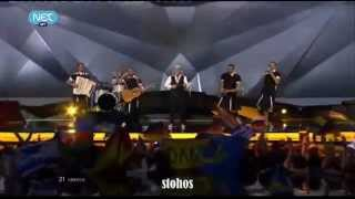 Eurovision 2013 Greece Grand Final Live-Koza Mostra feat. Agathon Iakovidis- Alcohol is free
