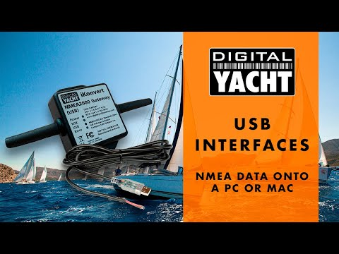 NMEA 0183 & NMEA 2000 USB Interfacing - Digital Yacht