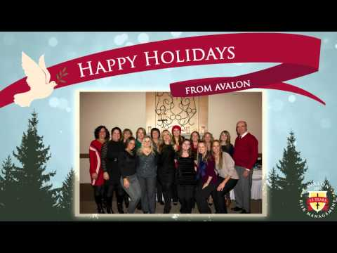 Avalon Holiday Card