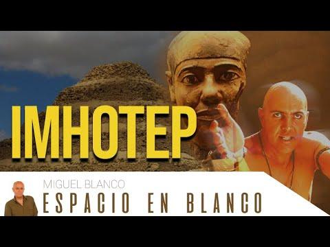 Espacio en Blanco – Imhotep: el visir de Dios (26/04/2014)