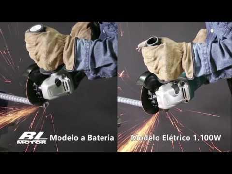 Esmerilhadeiras à Bateria Tecnologias XPT, motor BL, ADT e AFT