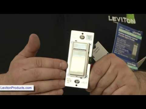 Z Wave Leviton Decora Universal Z Wave Dimmer Switch