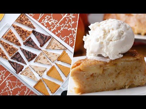 Impressive Thanksgiving pies