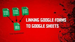 Linking google forms to google sheets - 2 minutes!
