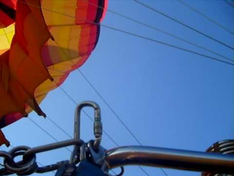 Hot Air Ballooning – South Africa – Magaliesburg – Releasing of air from balloon – Air Venture