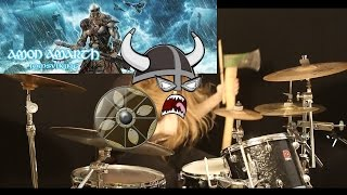 Amon Amarth (new song 2016 - Jomsviking/Lyric) - First Kill - Drum cover by Simon