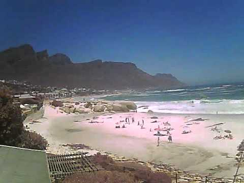 Timelapse Video – Glen Beach & Camps Bay – 29/01/2011