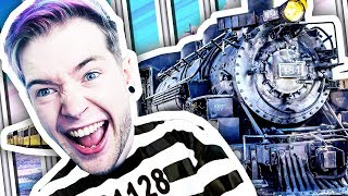ESCAPING THE PRISON TRAIN!!! (The Escapists 2 #8)