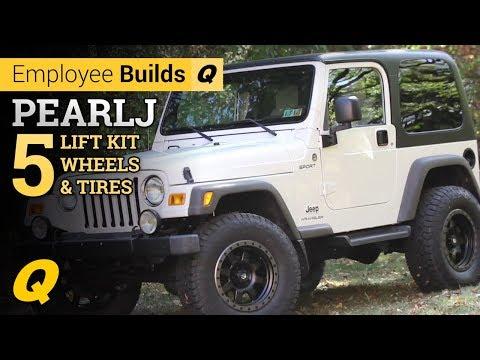 Quadratec Employee Builds Project PEARL J Part 5 - Lift Kit, Wheels & Tires
