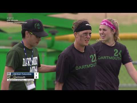 Video Thumbnail: 2017 College Championships, Women's Semifinal: Dartmouth vs. British Columbia