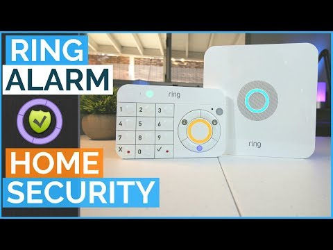 Z Wave Ring Alarm Home Z Wave Plus Security System