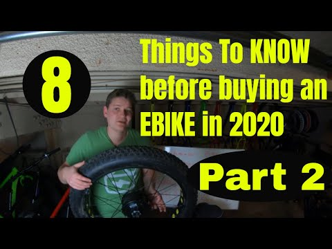 8 things to know before purchasing an ebike in 2020 - part 2