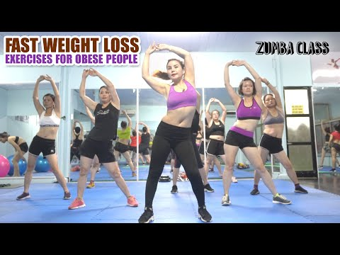 Fast Weight Loss Exercises For Obese People | Do This Everyday To Lose Weight | Zumba Class