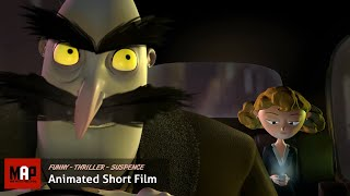 """CGI 3D Animated Short Film """"SERIAL TAXI"""" AWARD WINNING Comedy Thriller Animation by Paolo Cogliati"""