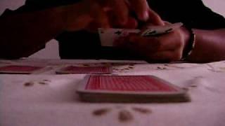Magicas com baralho - Os quatro Ases