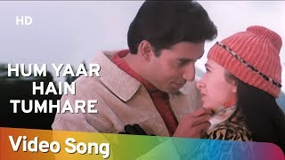 Hum Yaar Hain Tumhare (Male) | Haan Maine Bhi Pyaar Kiya | Abhishek Bachchan | Karishma Kapoor width=