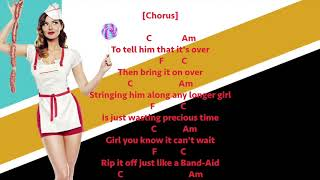 Break Up with Him - Old Dominion - Chords and lyrics