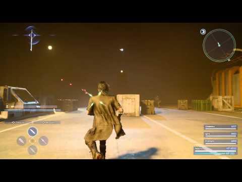 WTFF::: Final Fantasy XV | Niflheim Base Battle Footage | PS4