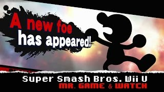 Super Smash Bros. Wii U How to Unlock Mr. Game & Watch and Stage