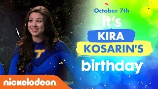 The Thundermans | Happy Birthday, Kira Kosarin! Official Tribute Music Video | Nick