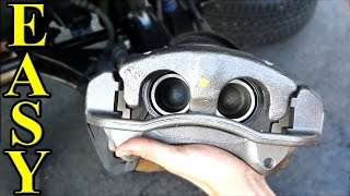 How to Replace a Brake Caliper width=