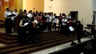 Coral do CCCLP-ThyssenKrupp e Coral Vox Advocati - On a wondrous night/Silent Night