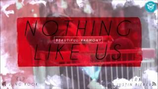 [Beautiful Harmony] Jung Kook & Justin Bieber   Nothing Like Us (USE HEADPHONES)