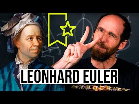 ¿Por qué LEONHARD EULER es mi matemático favorito?