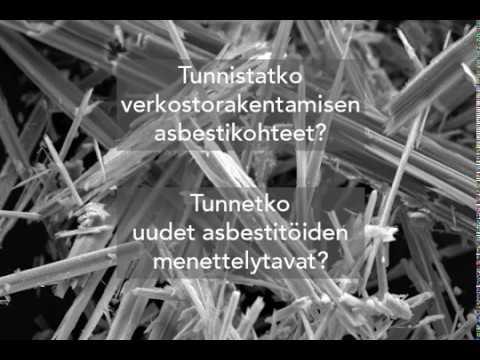 Mietityttääkö asbesti?